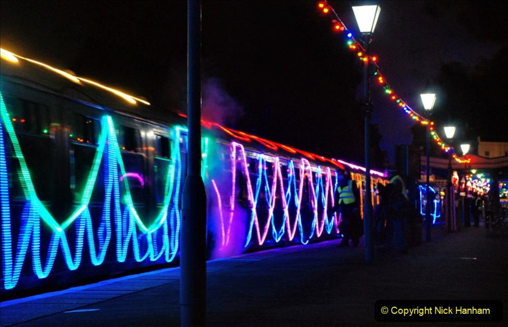 2020-12-12 SR Steam & Lights trackside. (71) Swanage. 121