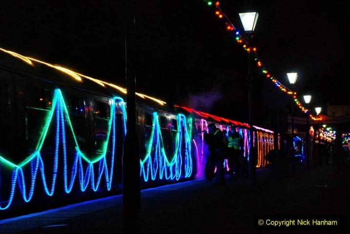 2020-12-12 SR Steam & Lights trackside. (72) Swanage. 122