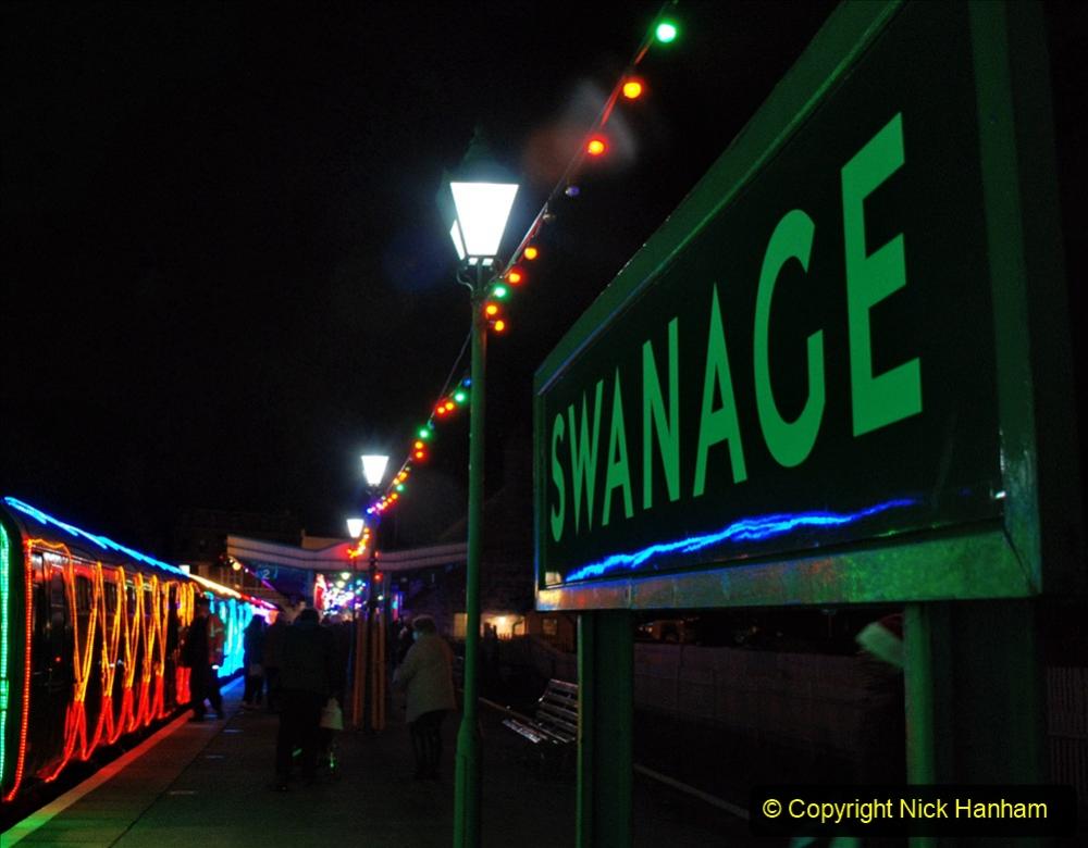 2020-12-12 SR Steam & Lights trackside. (76) Swanage. 126