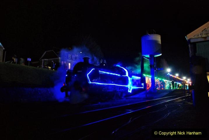 2020-12-12 SR Steam & Lights trackside. (79) Swanage. 129