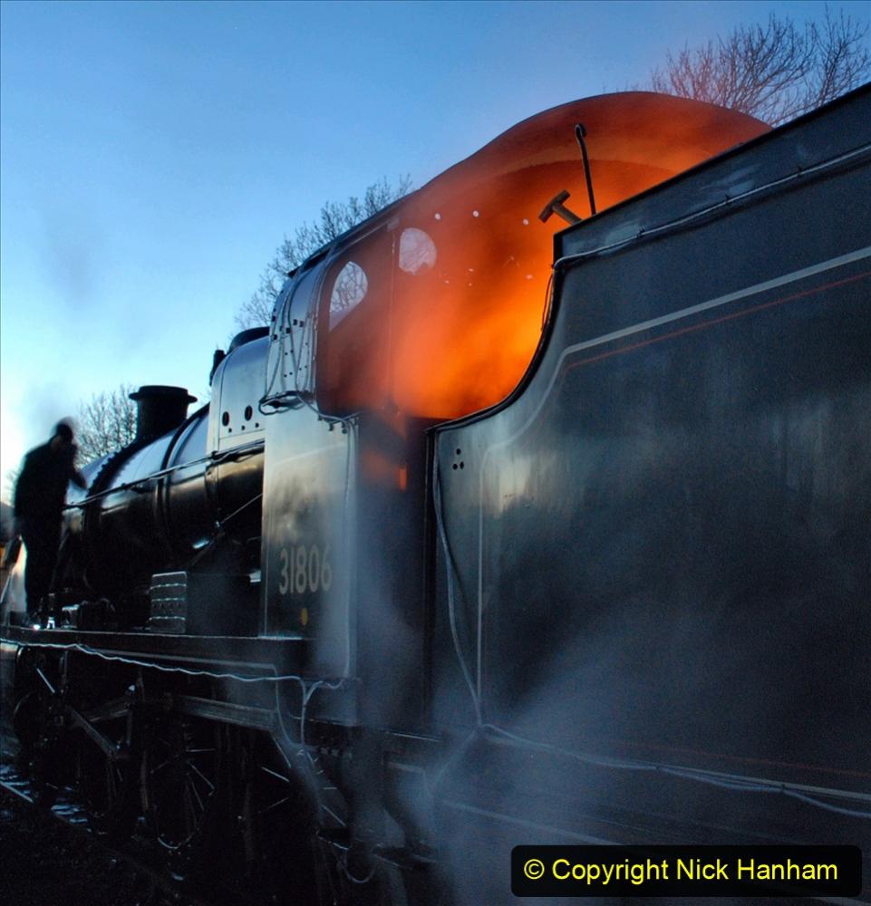 2020-12-12 SR Steam & Lights trackside. (8) Swanage. 058