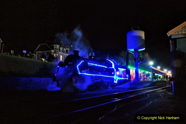 2020-12-12 SR Steam & Lights trackside. (81) Swanage. 131