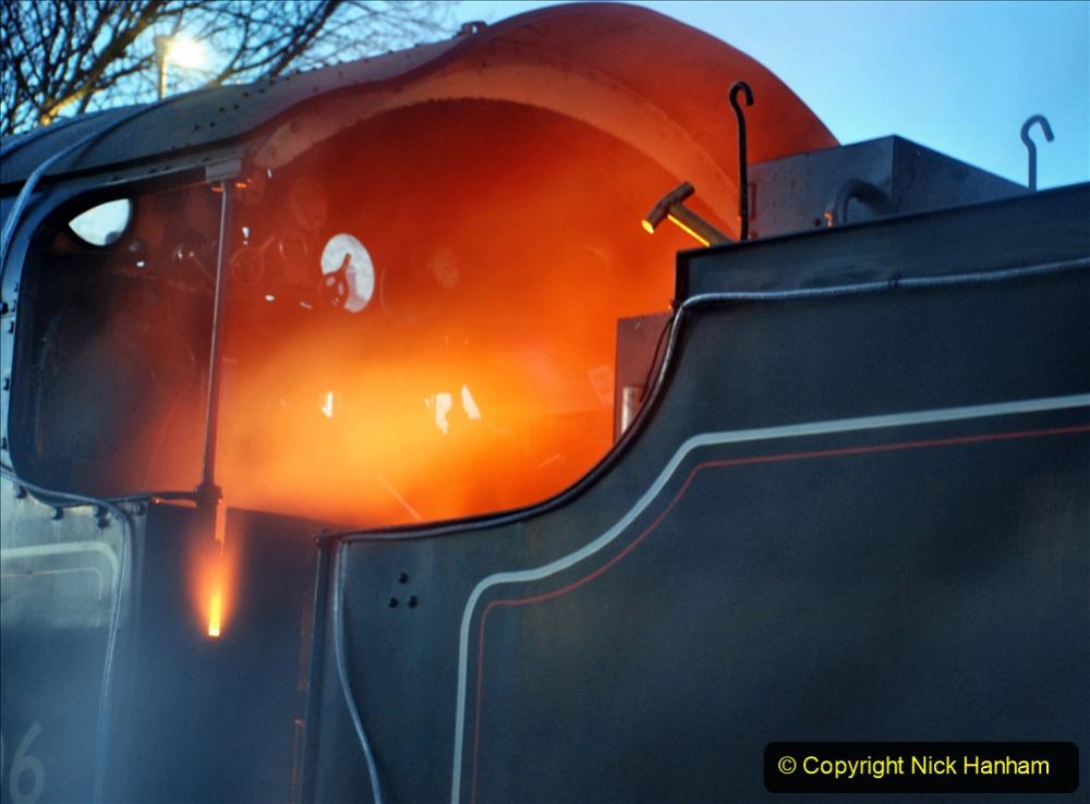 2020-12-12 SR Steam & Lights trackside. (9) Swanage. 059