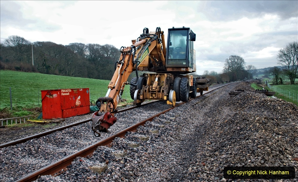 SR Track Renewal Work and Tamper 06 February 2020