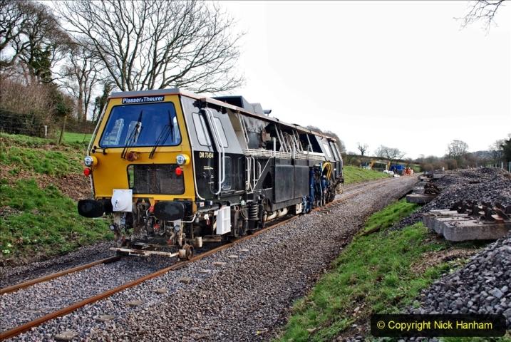 2020-02-06 Track renewal work & Tamper. (100) 100