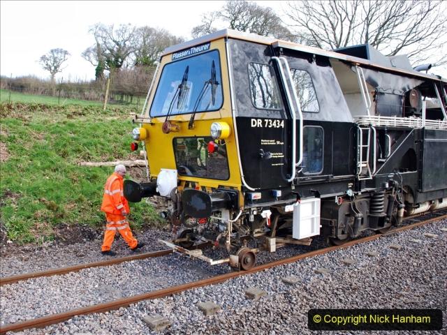 2020-02-06 Track renewal work & Tamper. (101) 101