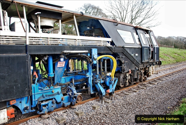 2020-02-06 Track renewal work & Tamper. (103) 103