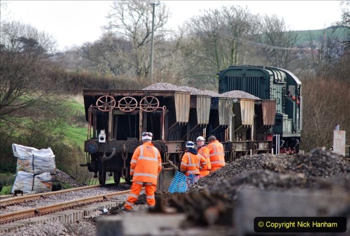 2020-02-06 Track renewal work & Tamper. (104) 104