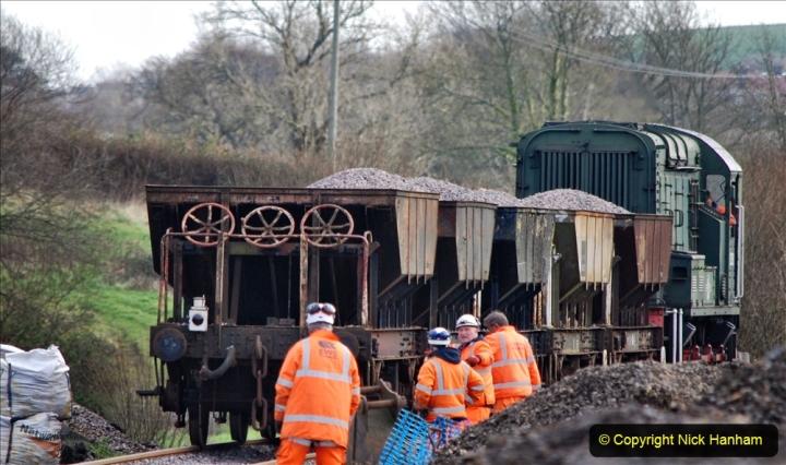2020-02-06 Track renewal work & Tamper. (105) 105
