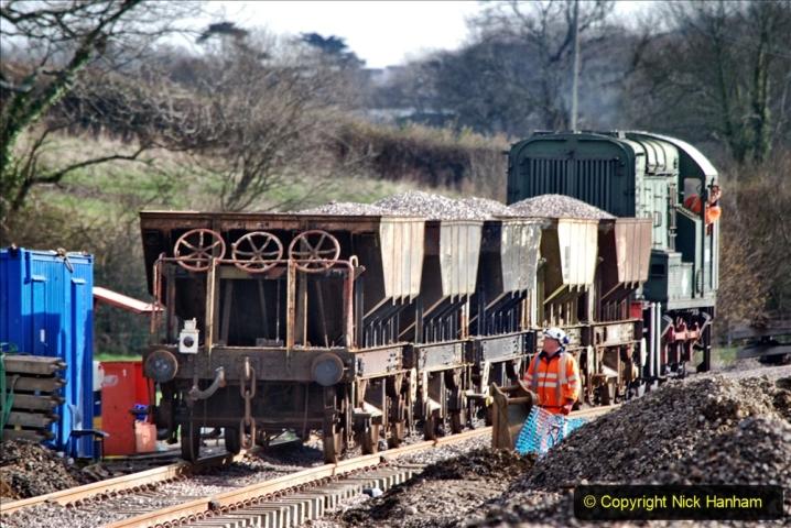 2020-02-06 Track renewal work & Tamper. (108) 108