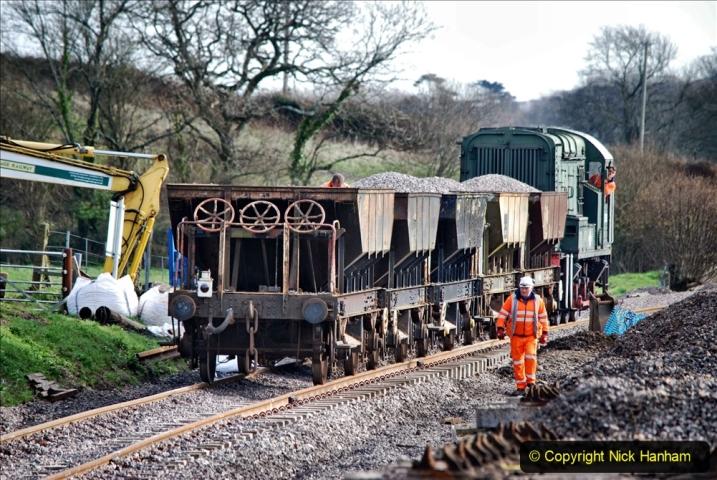 2020-02-06 Track renewal work & Tamper. (109) 109