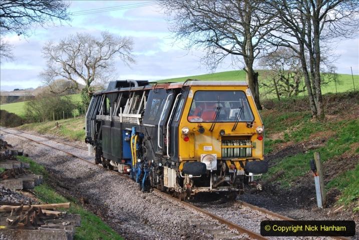 2020-02-06 Track renewal work & Tamper. (110) 110