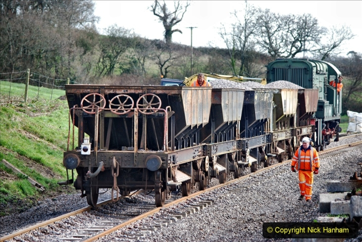 2020-02-06 Track renewal work & Tamper. (111) 111