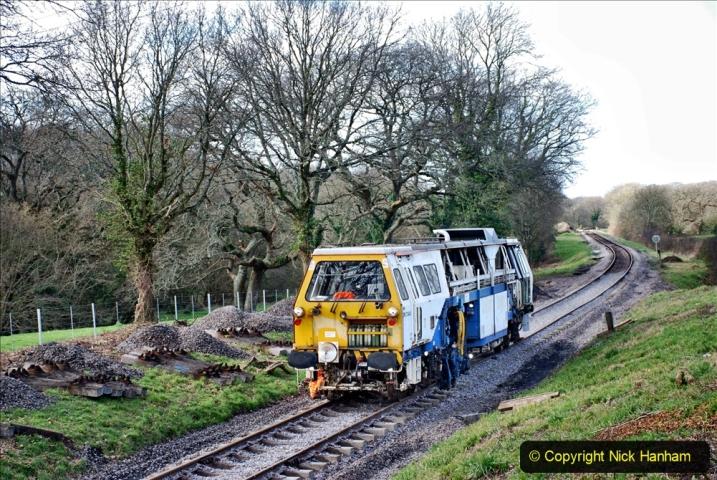2020-02-06 Track renewal work & Tamper. (123) 123