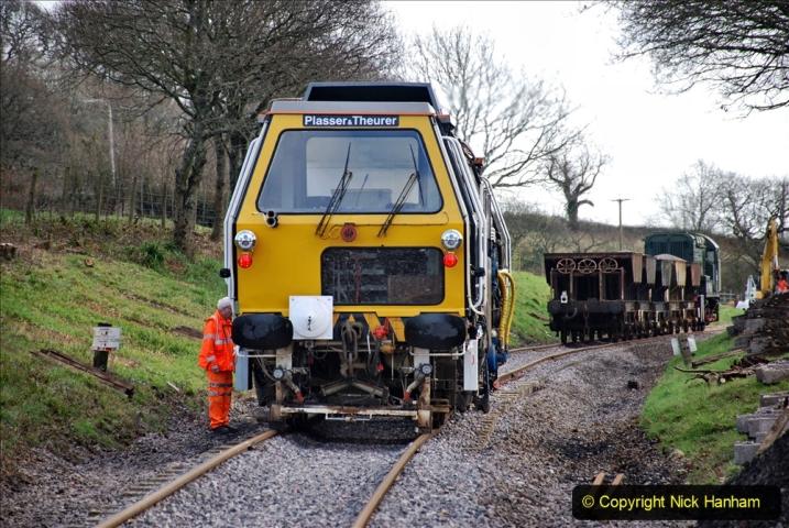 2020-02-06 Track renewal work & Tamper. (125) 125