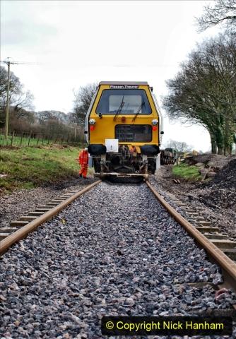 2020-02-06 Track renewal work & Tamper. (130) 130