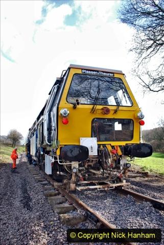 2020-02-06 Track renewal work & Tamper. (133) 133