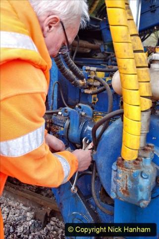 2020-02-06 Track renewal work & Tamper. (143) Running repairs. 143