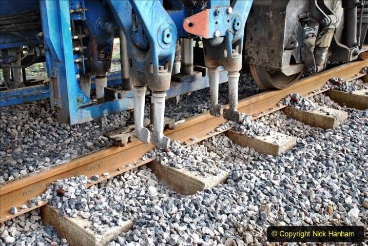 2020-02-06 Track renewal work & Tamper. (63) 063