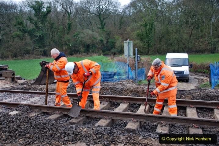 2020-02-06 Track renewal work & Tamper. (9) 009