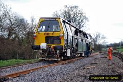 2020-02-06 Track renewal work & Tamper. (57) 057