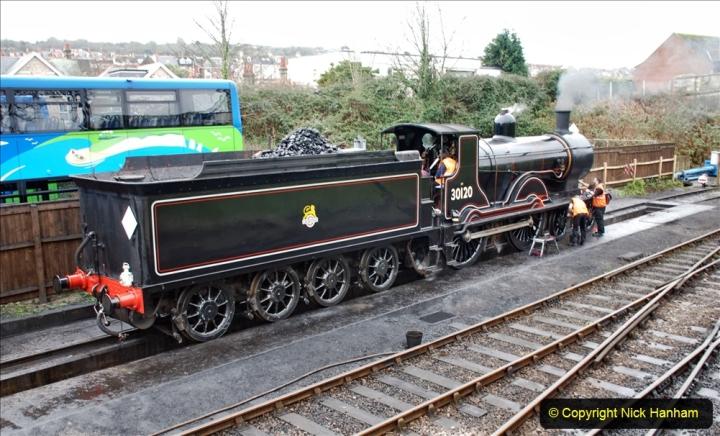 2019-12-28 SR Winter Warm Up Steam & Diesel. (100) 100