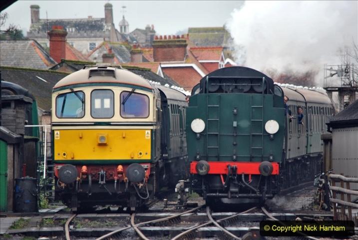 2019-12-28 SR Winter Warm Up Steam & Diesel. (124) 124