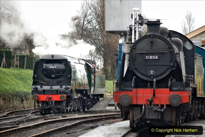 2019-12-28 SR Winter Warm Up Steam & Diesel. (150) 150