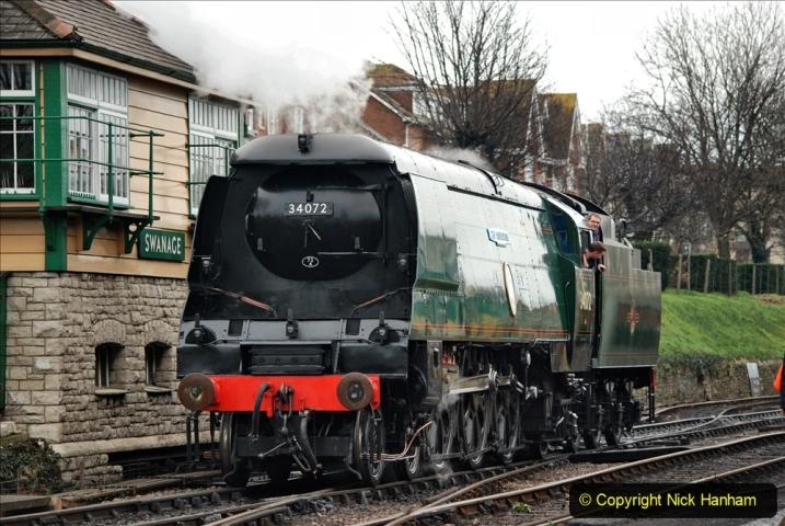 2019-12-28 SR Winter Warm Up Steam & Diesel. (152) 152