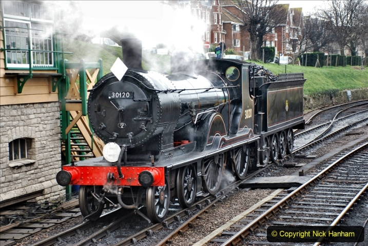2019-12-28 SR Winter Warm Up Steam & Diesel. (204) 204