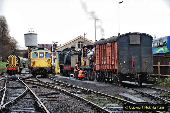 2019-12-28 SR Winter Warm Up Steam & Diesel. (34) 034