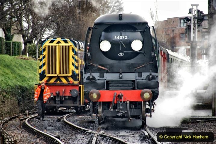 2019-12-28 SR Winter Warm Up Steam & Diesel. (52) 052