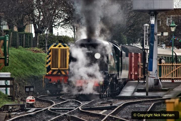 2019-12-28 SR Winter Warm Up Steam & Diesel. (55) 055