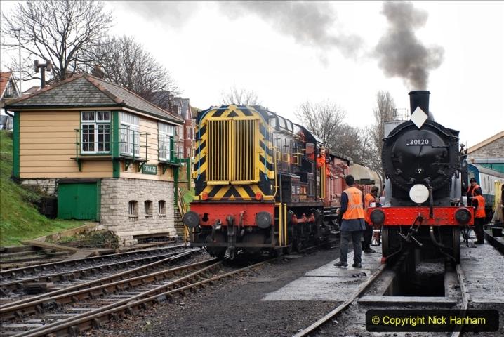 2019-12-28 SR Winter Warm Up Steam & Diesel. (79) 079
