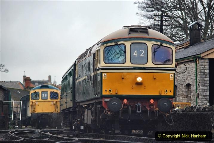 2019-12-28 SR Winter Warm Up Steam & Diesel. (91) 091