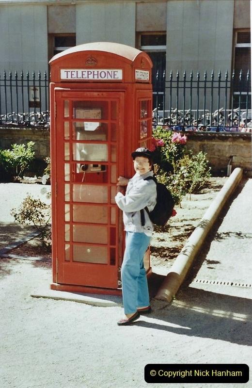 Telephone Boxes Overseas 2019