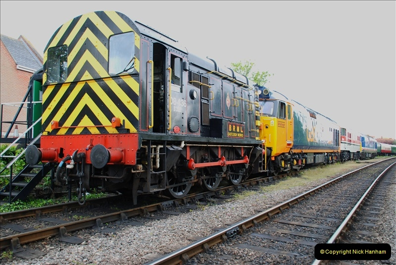 The day before the SR Spring Diesel Gala