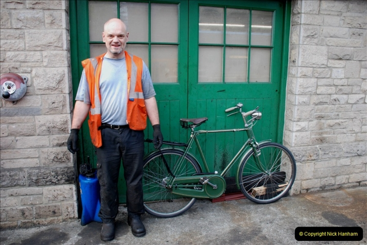 2019-05-09 The day before the Diesel Gala. (71) What a great cycle restoration.