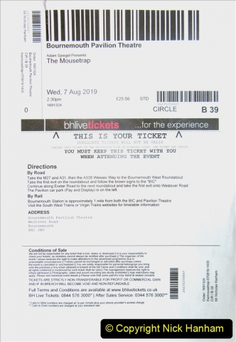 2019-08-07 The Mousetrap at Bournemouth Pavillion Theatre. (12) The play. 011