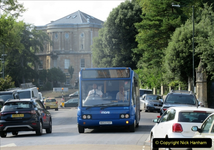 2019-08-07 The Mousetrap at Bournemouth Pavillion Theatre. (17) Our bus home after the play. 017