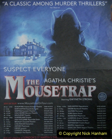 2019-08-07 The Mousetrap at Bournemouth Pavillion Theatre. (3) The Play. 003