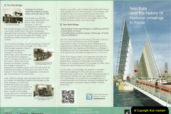 The New Twin Sails Bridge Poole Dorset 2010 to 2013