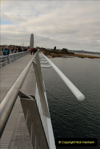 2012-02-25 Poole Twin Sails Bridge first day open to the public. (No Vehicles) (11)066