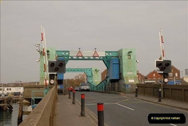 2012-02-29 Poole New Twin Sails Bridge  and Old Lifting Bridge.  (12)152