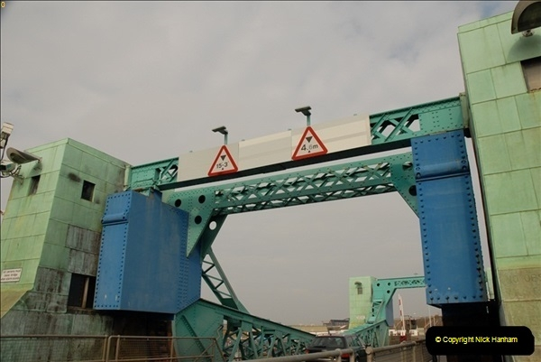 2012-02-29 Poole New Twin Sails Bridge  and Old Lifting Bridge.  (17)157