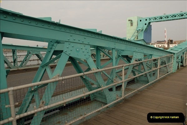 2012-02-29 Poole New Twin Sails Bridge  and Old Lifting Bridge.  (21)161