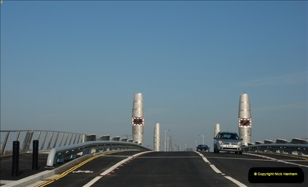 2012-04-06 Travelling over Poole Twin Sales New Bridge & the Old Bridge.  (10)308