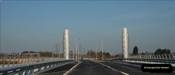 2012-04-06 Travelling over Poole Twin Sales New Bridge & the Old Bridge.  (13)311