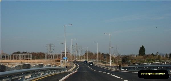 2012-04-06 Travelling over Poole Twin Sales New Bridge & the Old Bridge.  (15)313