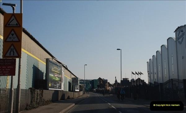 2012-04-06 Travelling over Poole Twin Sales New Bridge & the Old Bridge.  (17)315